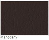 Vegas Microfibre Imitation Leather Mahogany