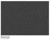 Vegas Microfibre Imitation Leather Metal