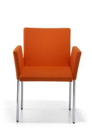 Bebe Chair Powdercoated Silver Star Or Chrome Leg Frame